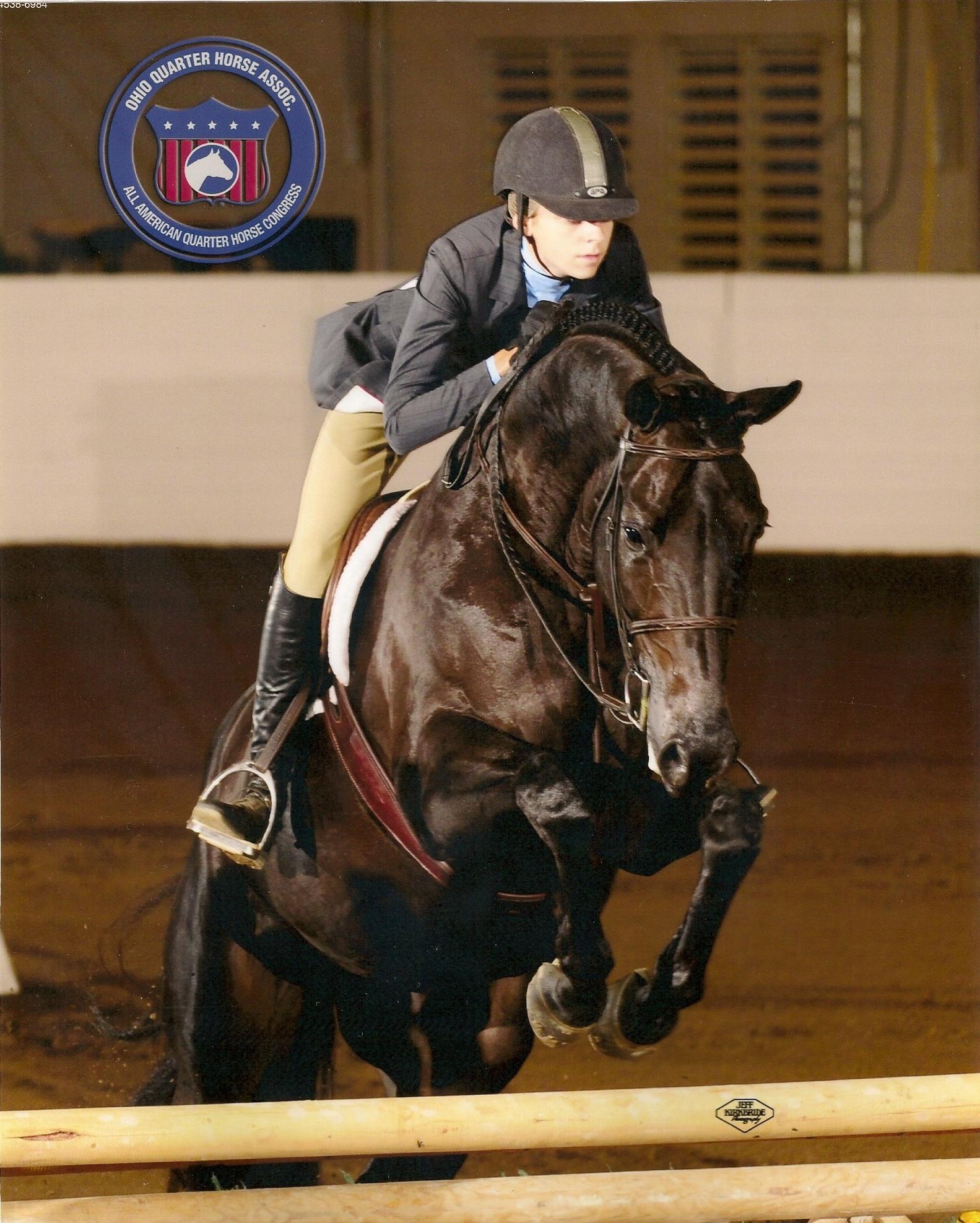 taylor myers   miami university equestrian