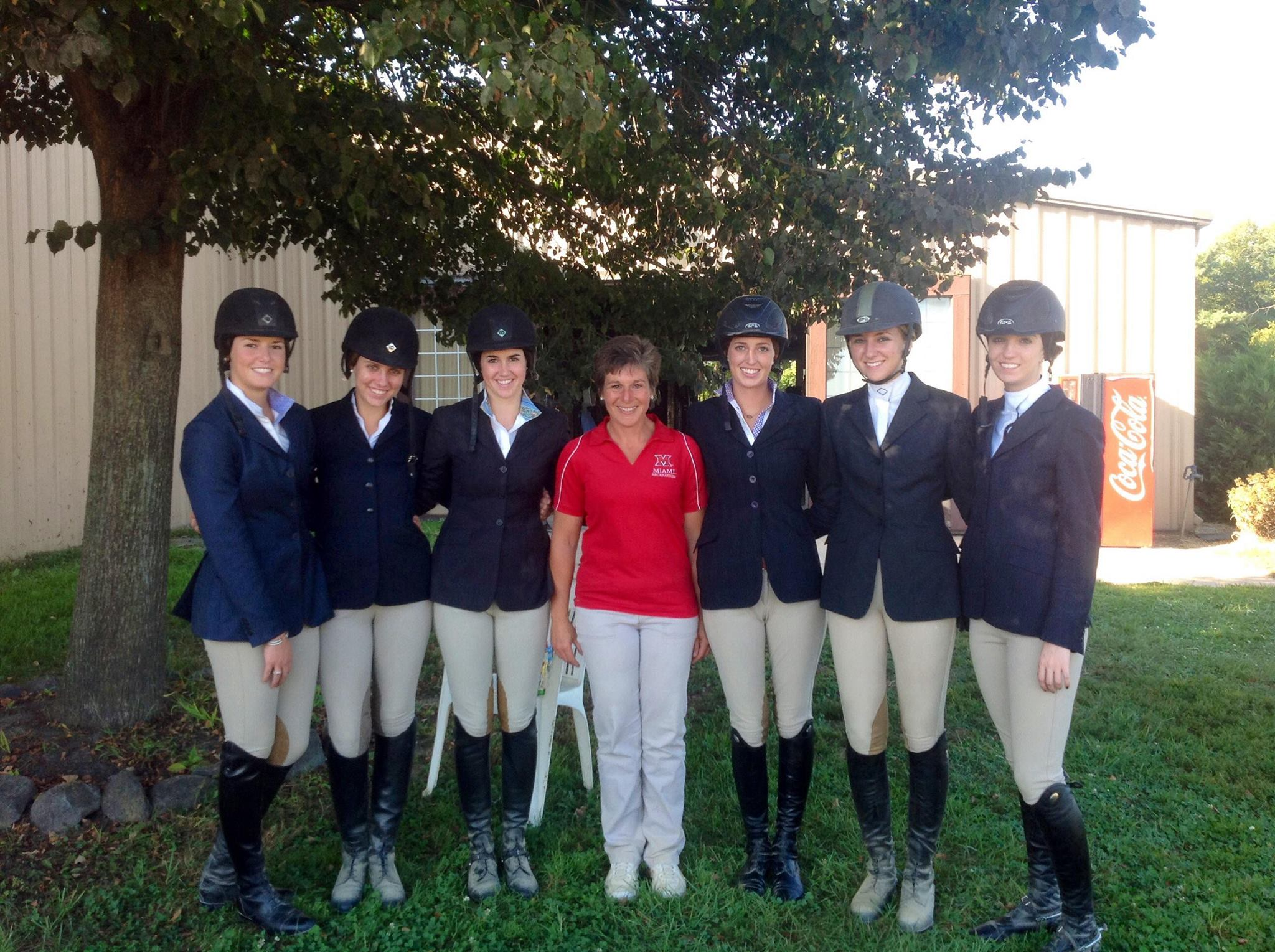 Redhawks Soar In Ncea Scrimmage Miami University Equestrian