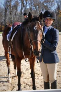 Danielle with Miami horse Irish
