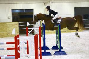Kayla and Thor in the Mini Prix