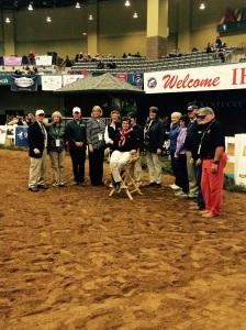 Lori Cramer and past lifetime achievement award winners.